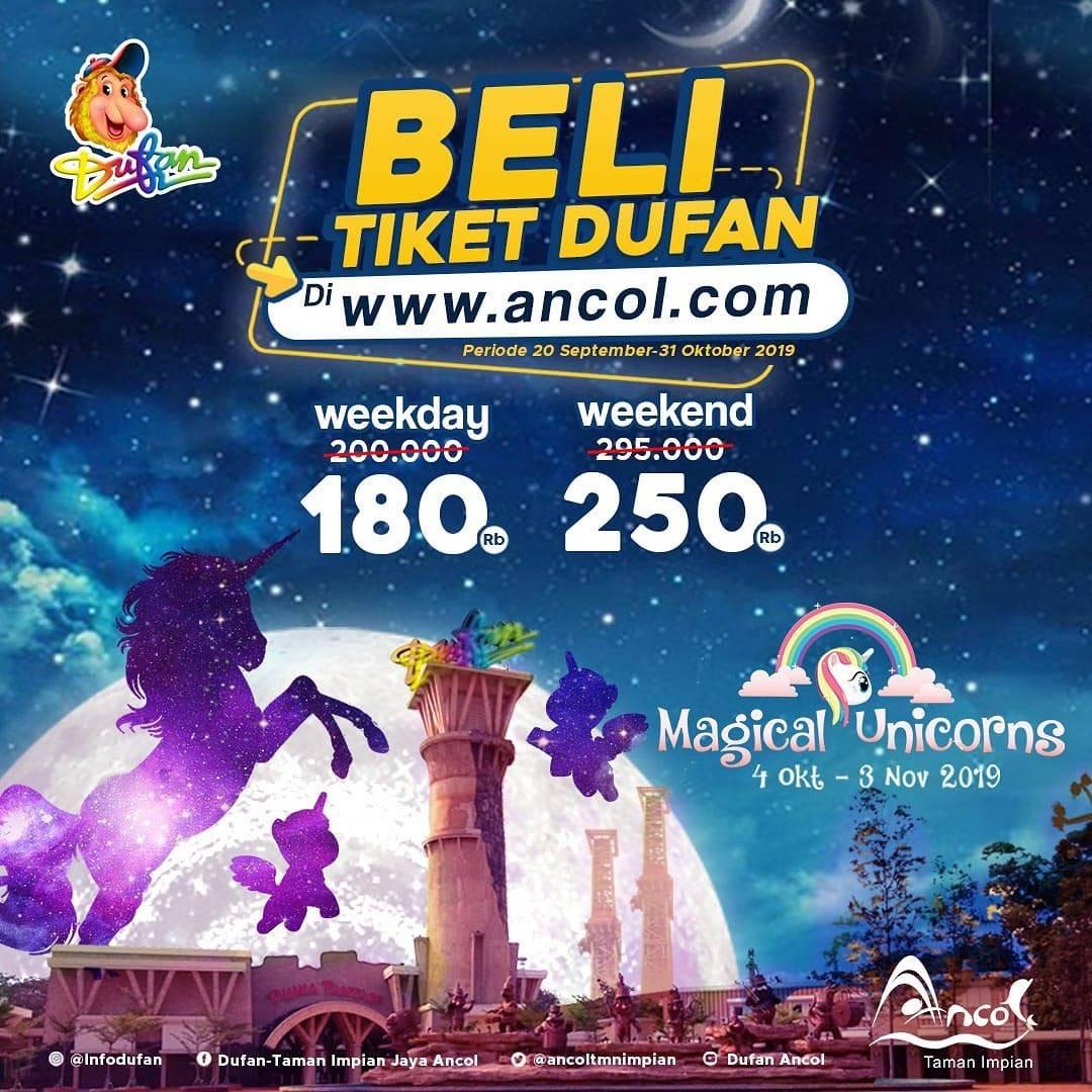 Diskon DUFAN Promo HARGA SPESIAL khusus untuk pembelian via Website