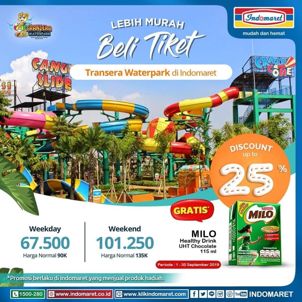 BELI Tiket Trans Studio Bandung di INDOMARET GRATIS 1 milo healthy drink UHT Cokelat 115ml