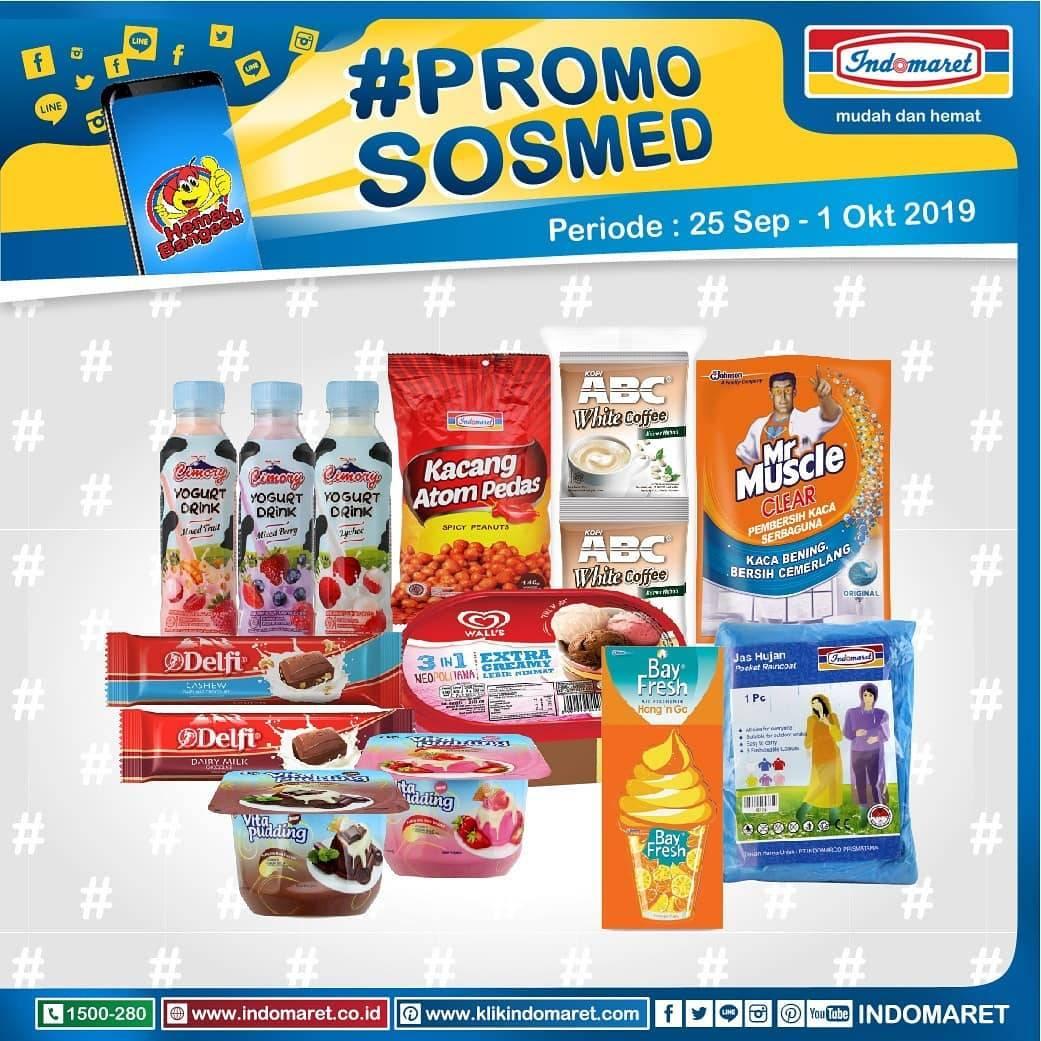 INDOMARET PromoSosmed periode 25 September – 01 Oktober 2019