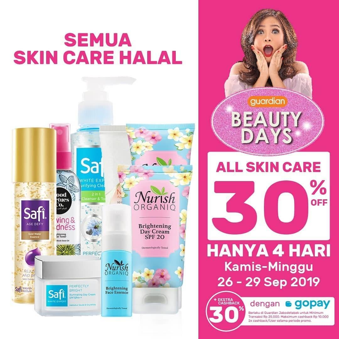 GUARDIAN BEAUTY DAYS! DISKON hingga 30% untuk Produk Skin Care