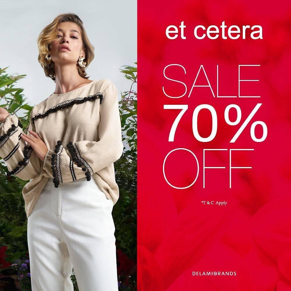 Diskon Et Cetera Promo Sale Discount 70% Off