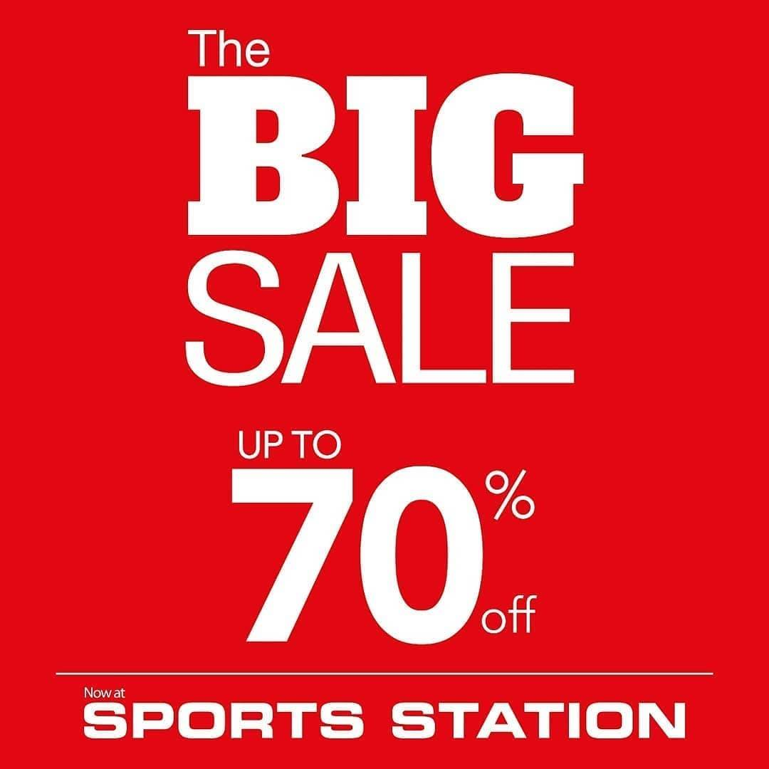 SPORTS STATION Promo The Big Sale Disc Up To 70% Off