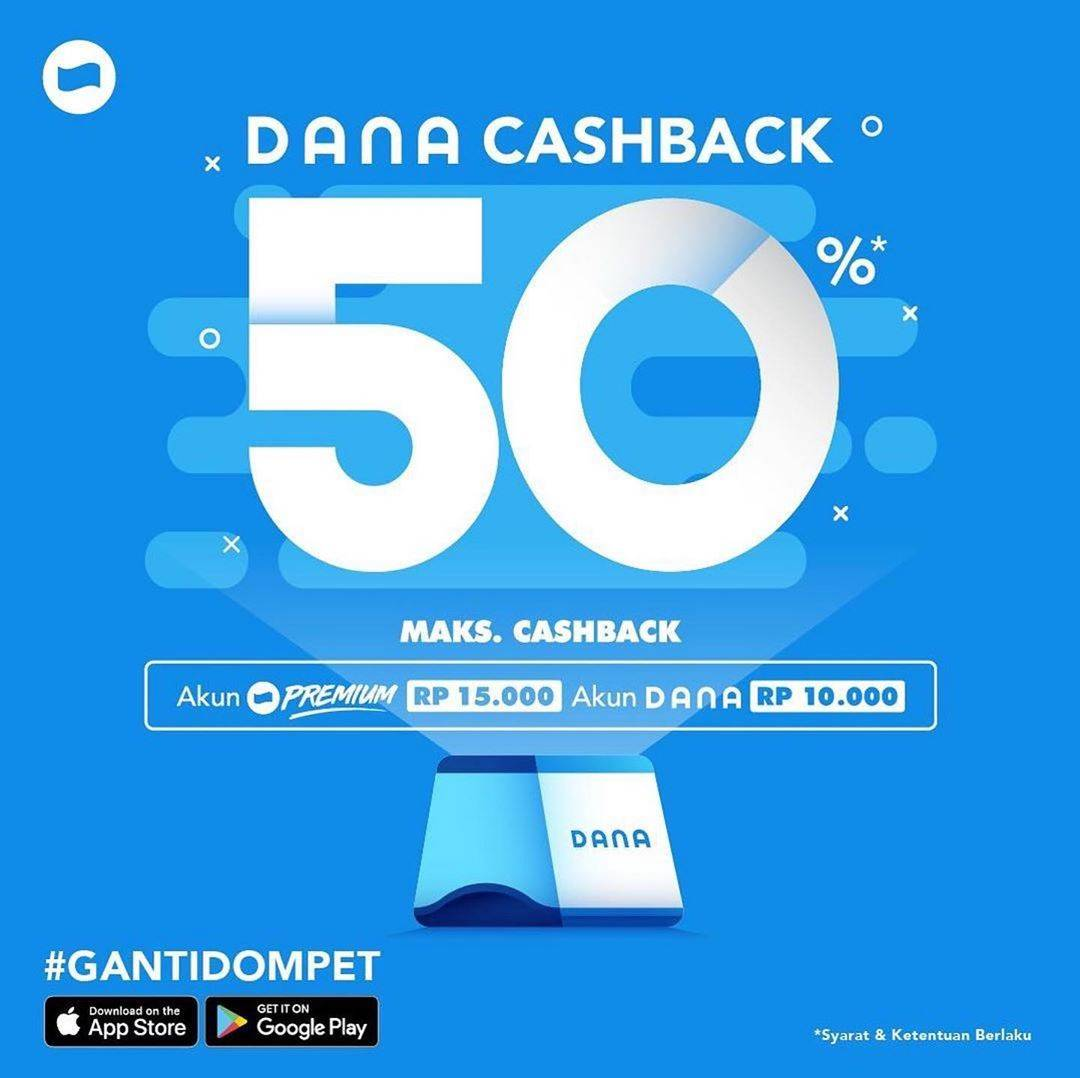 DANA Promo Cashback Hingga Rp 50.000
