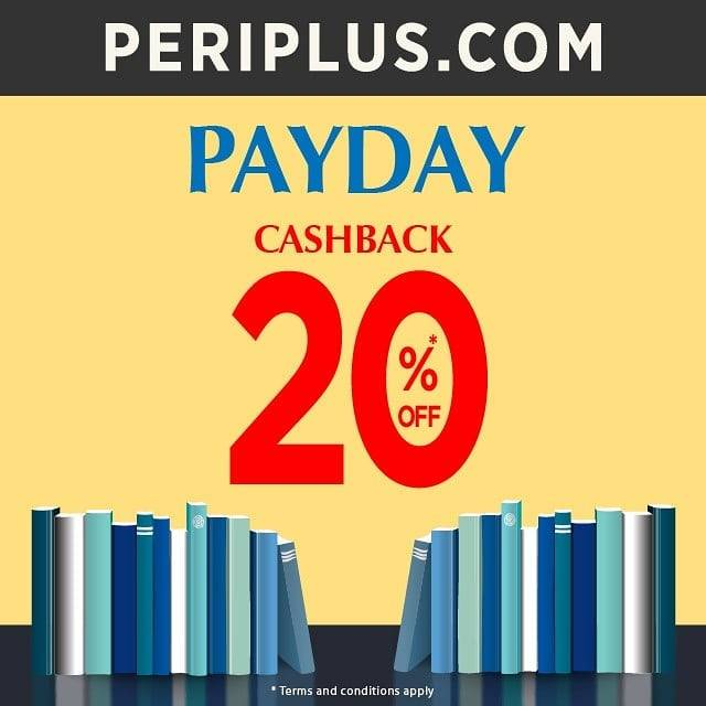 PERIPLUS PAYDAY SPECIAL! CASHBACK 20% OFF