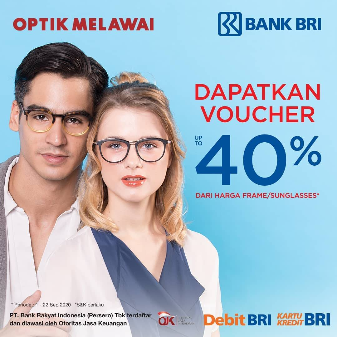 Optik Melawai Promo Bank Bri Voucher 40 Disqonin