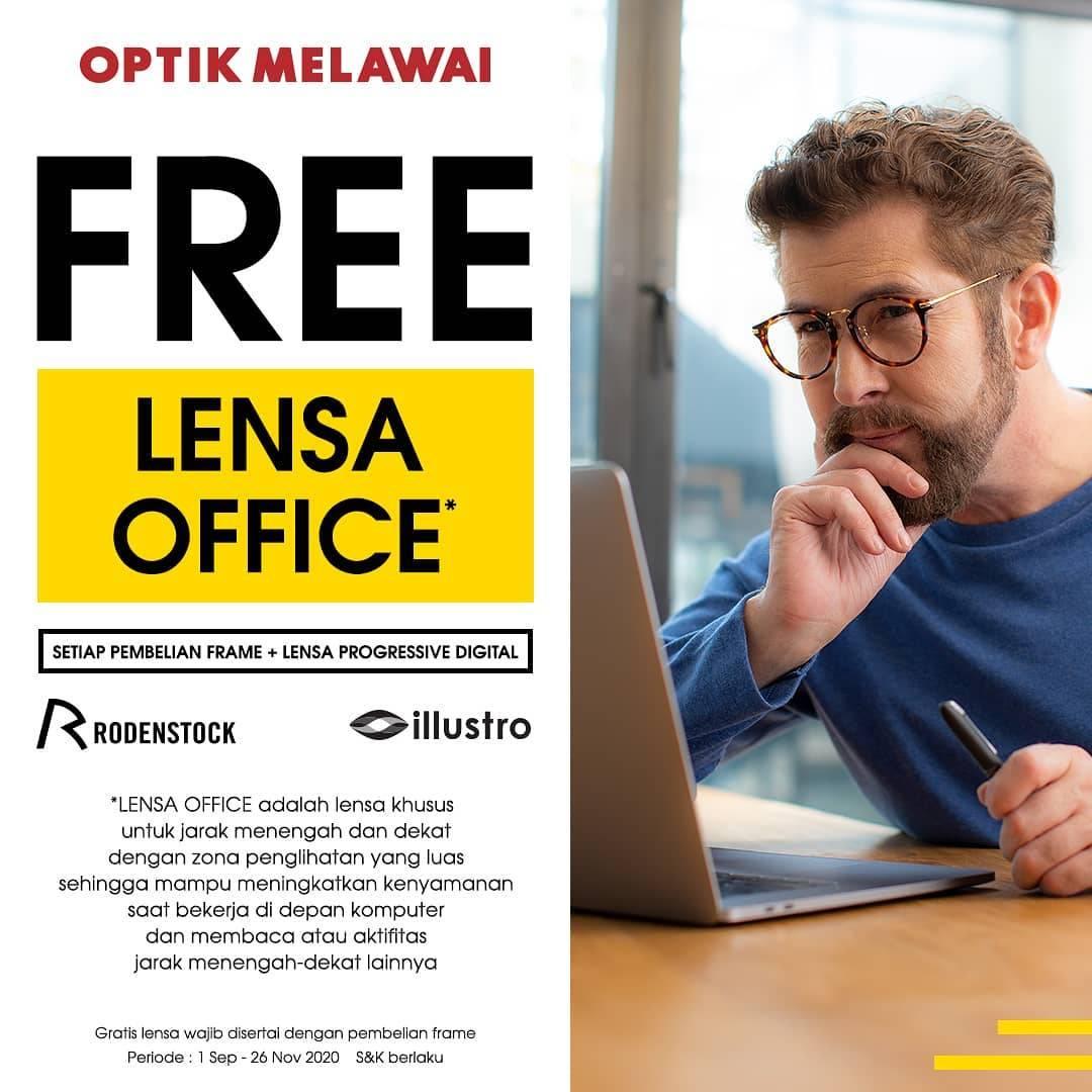 Diskon Optik Melawai Promo Lensa Office