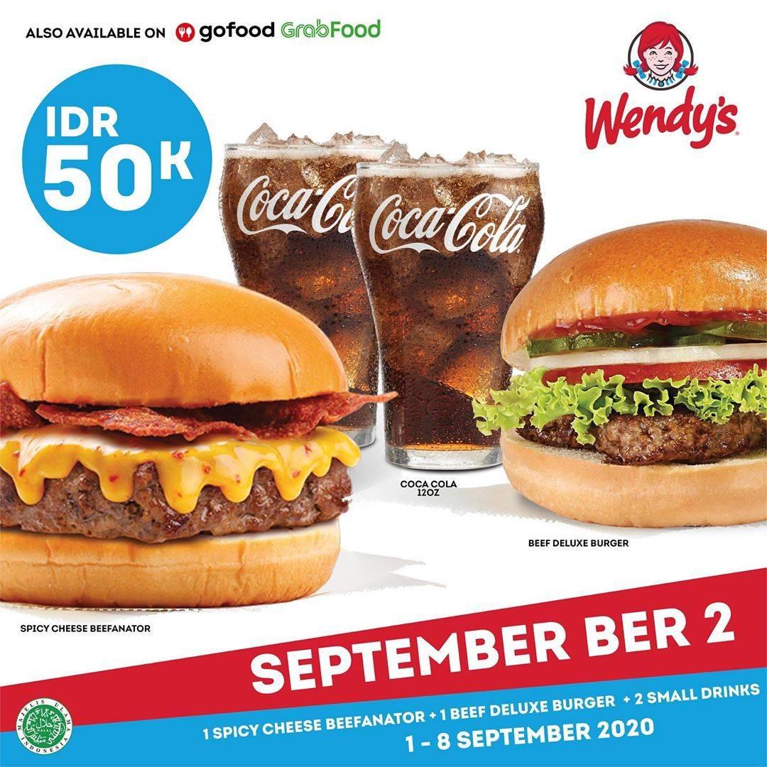Diskon Wendys Promo September Ber 2