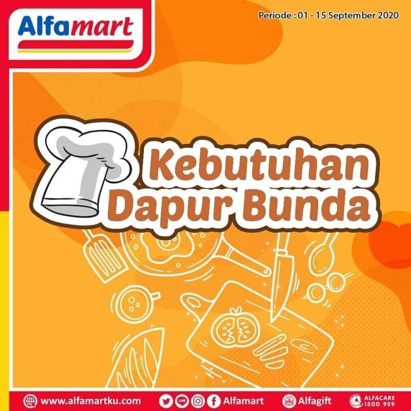 Diskon Katalog Promo Alfamart Kebutuhan Dapur Bunda Periode 1 - 15 September 2020