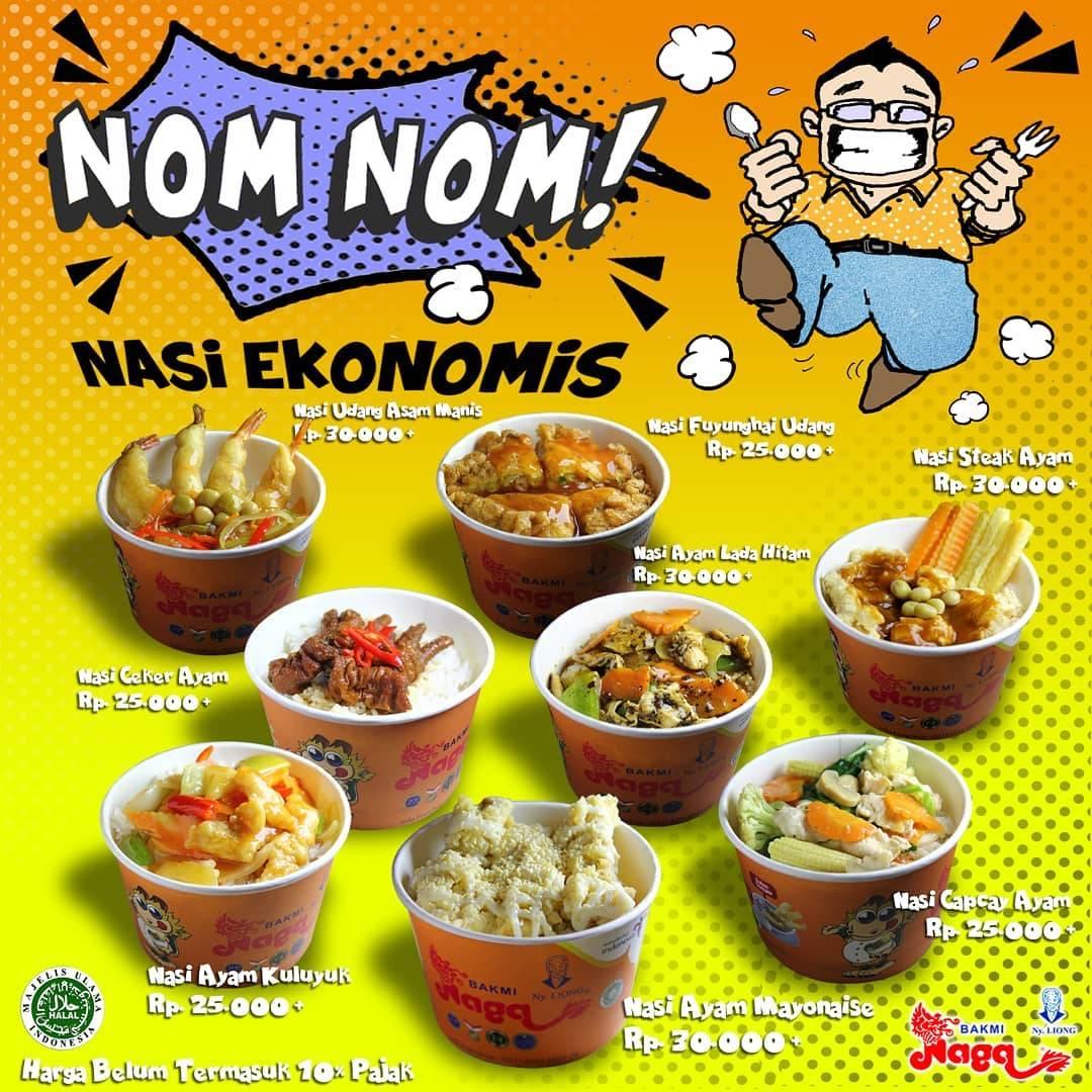 Diskon Bakmi Naga Promo Paket Nom Nom