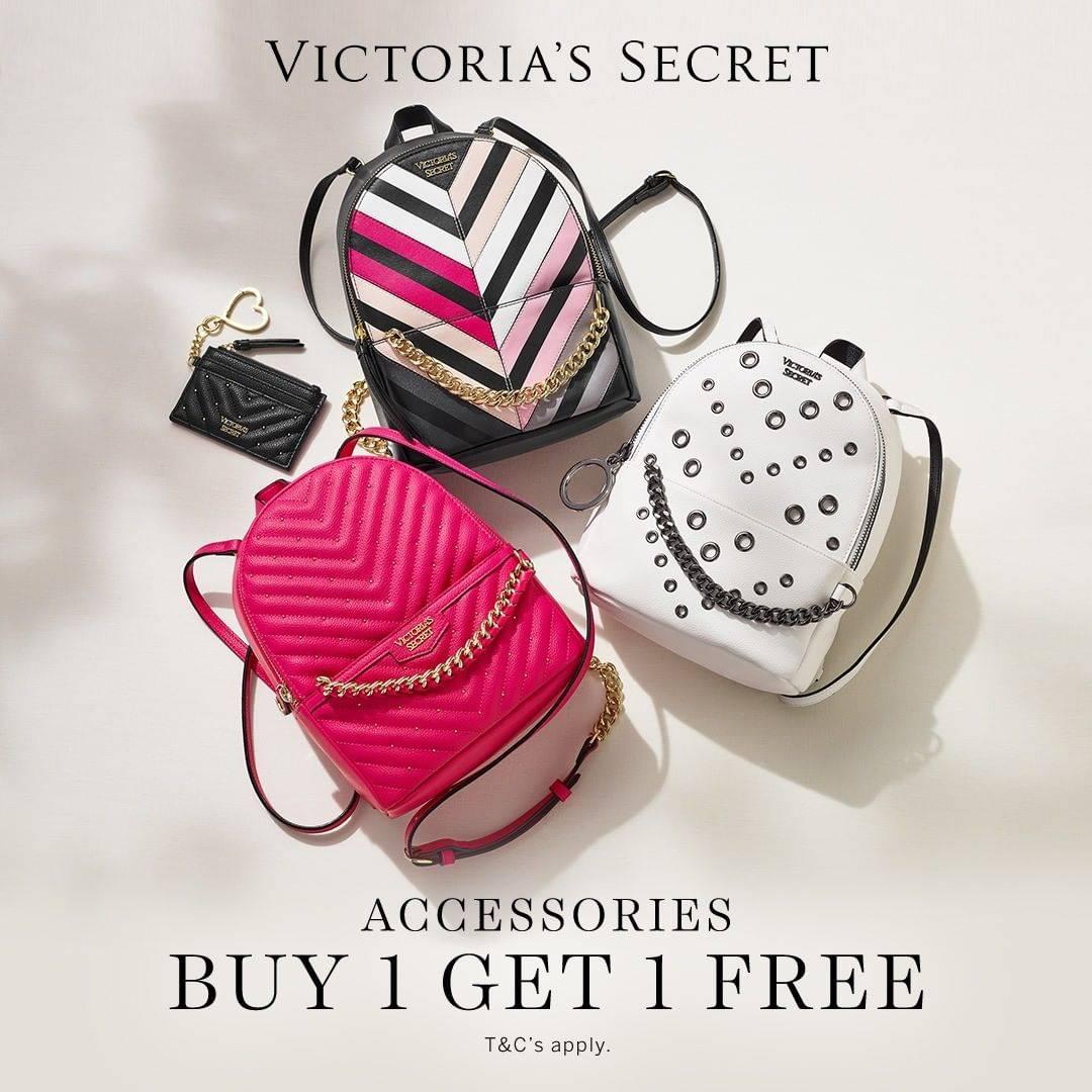 Diskon Victoria's Secret Promo Buy 1 Get 1 Free Aksesoris
