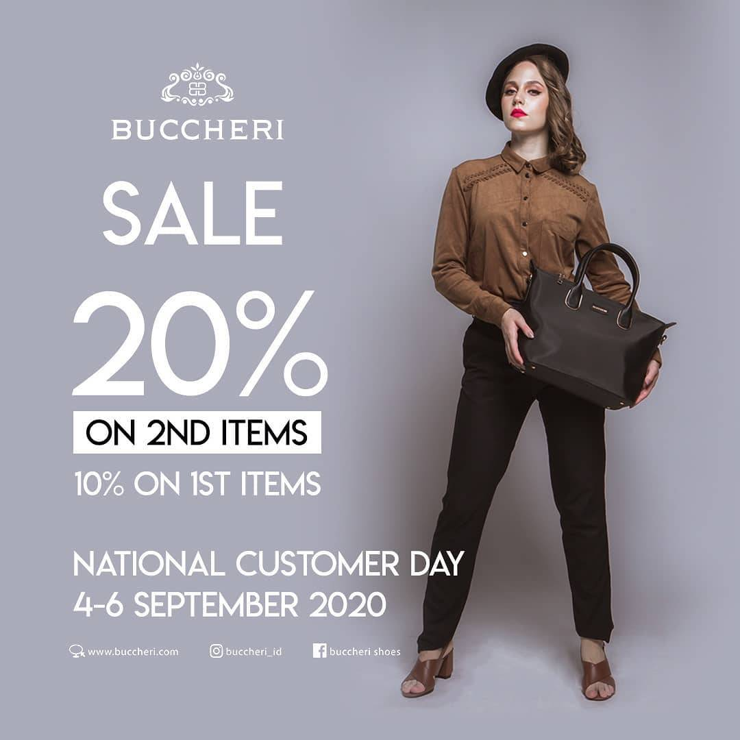Diskon Buccheri Promo Sale up to 20%