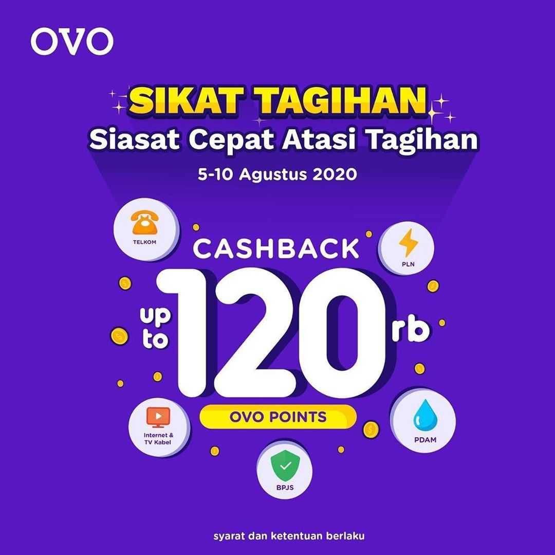 Promo diskon OVO Promo Sikat Tagihan