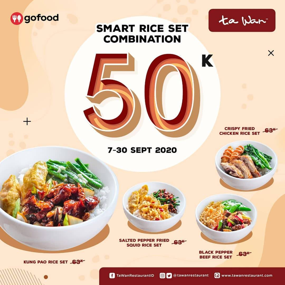 Diskon Ta Wa Promo Rice Smart Set Combination