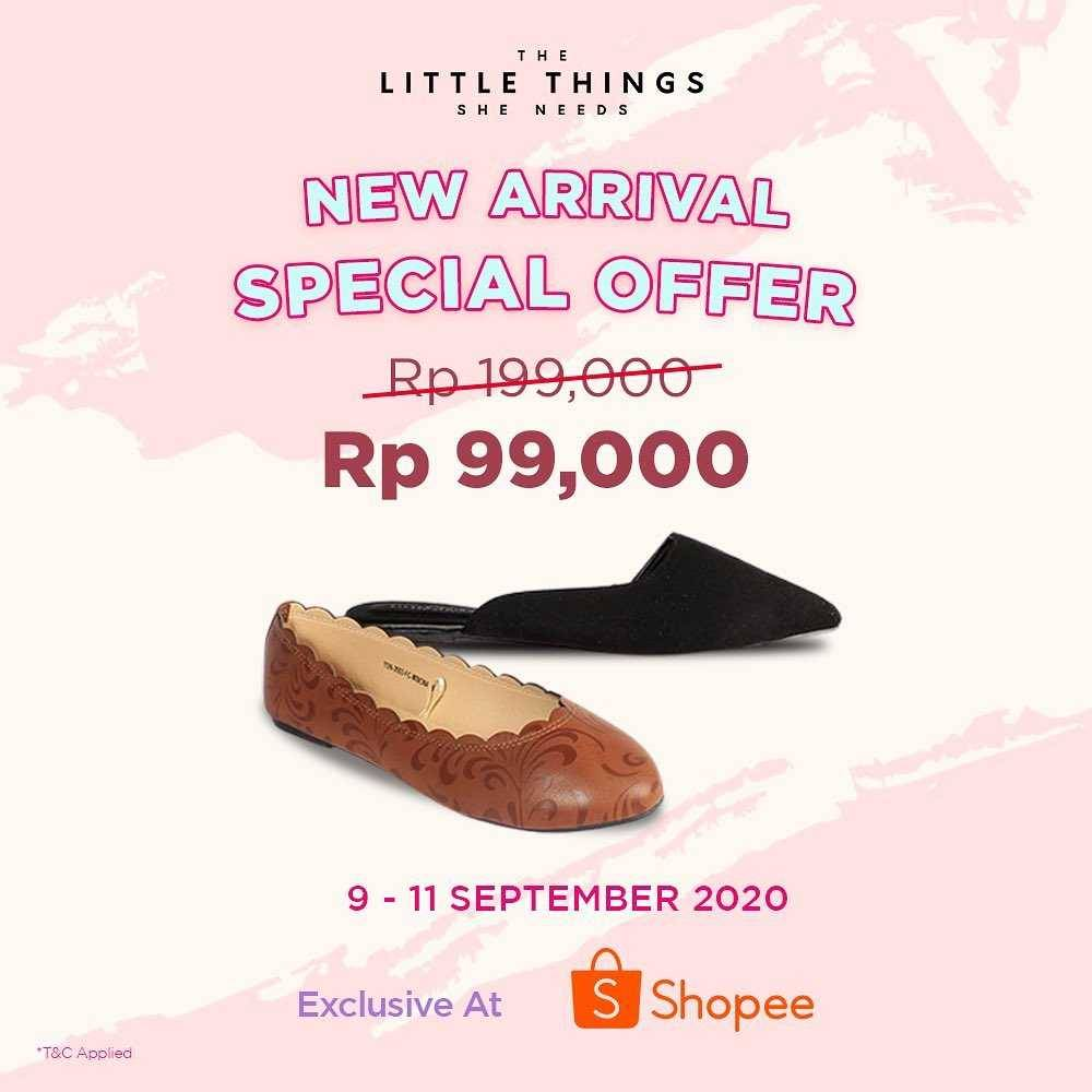 Promo diskon The Little Things She Needs 9.9 Super Shopping Day On Shopee