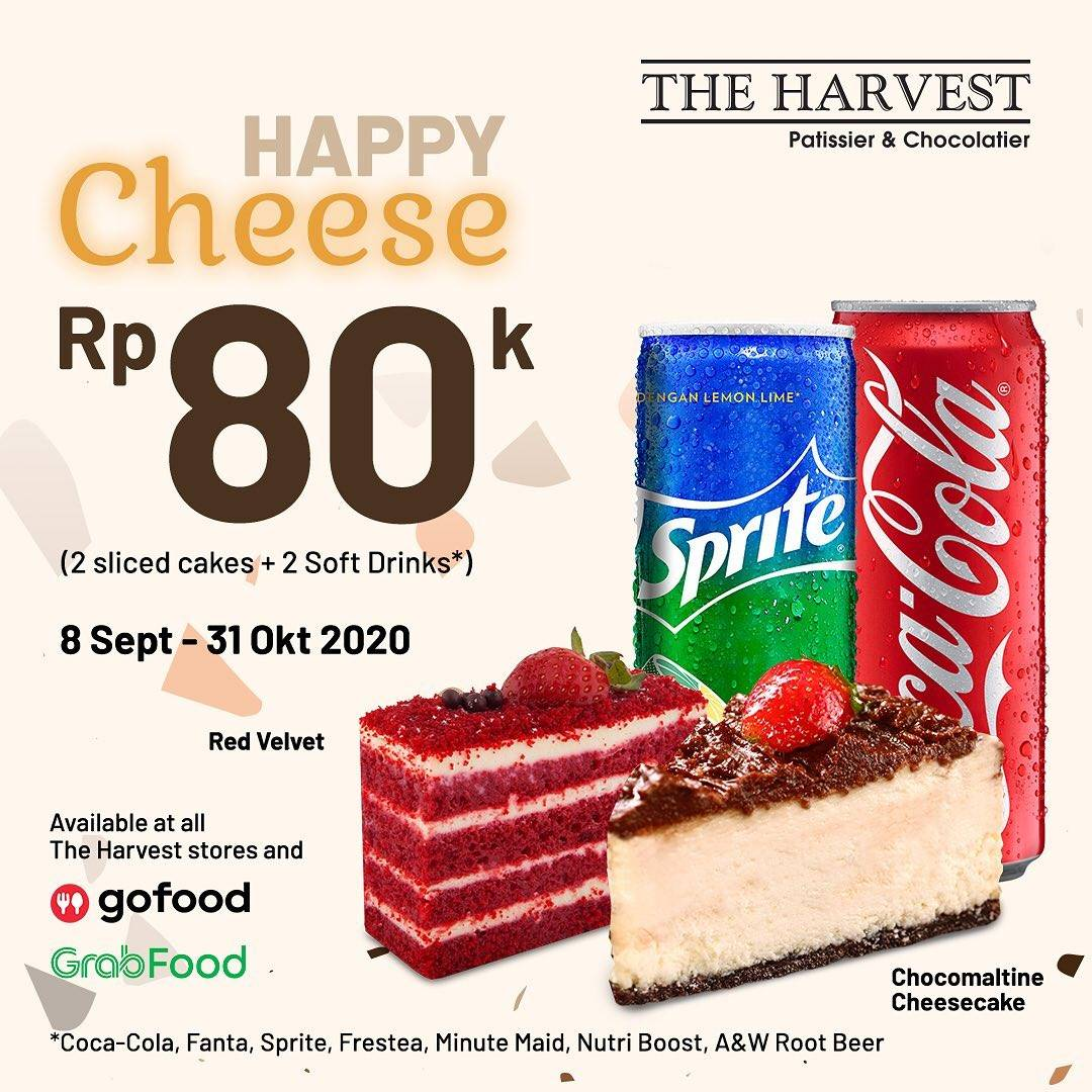 Diskon The Harvest Promo Happy Cheese & Happy Choco