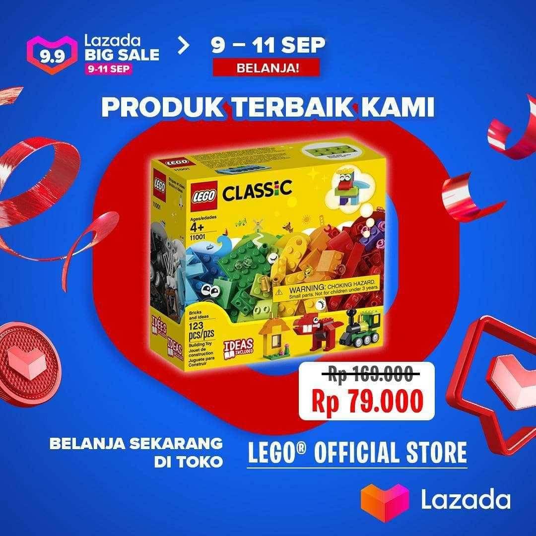Promo diskon Kidz Station Promo Lego Di Lazada