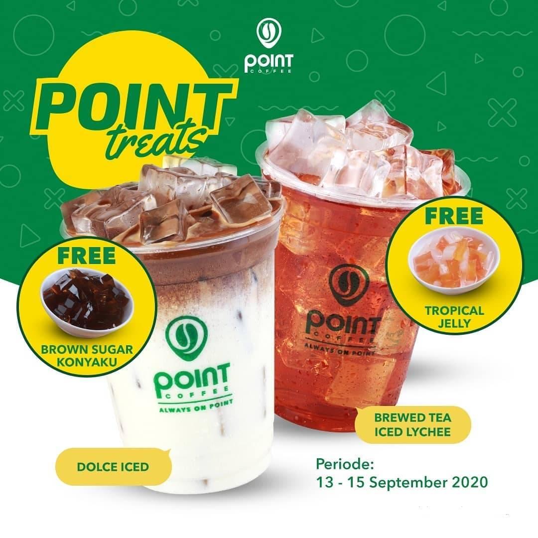 Diskon Promo Indomaret Point Coffee Free Topping
