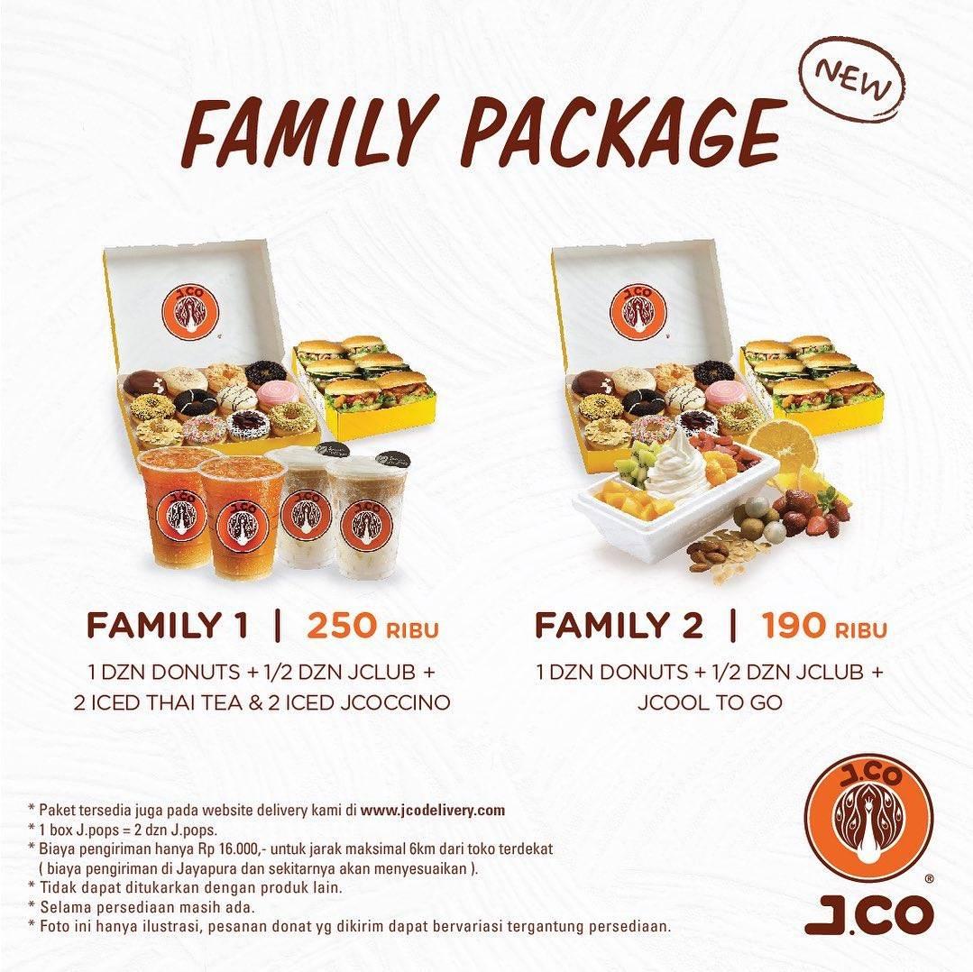 Diskon JCO Promo Family Package