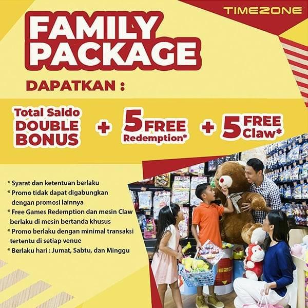 Diskon Timezone Promo Family Package