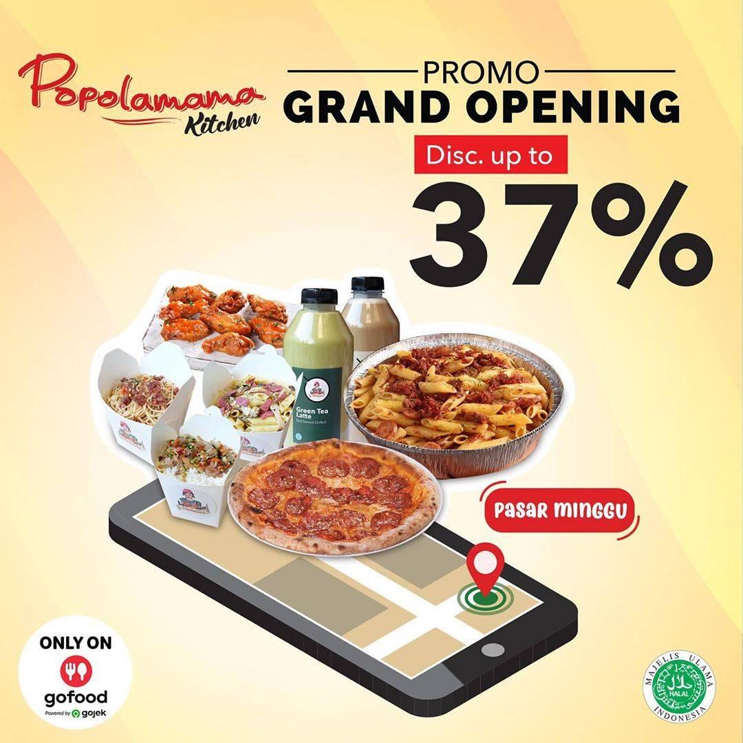 Diskon Popolamama Grand Opening Outlet Pasar Minggu Discount Up To 37% Off