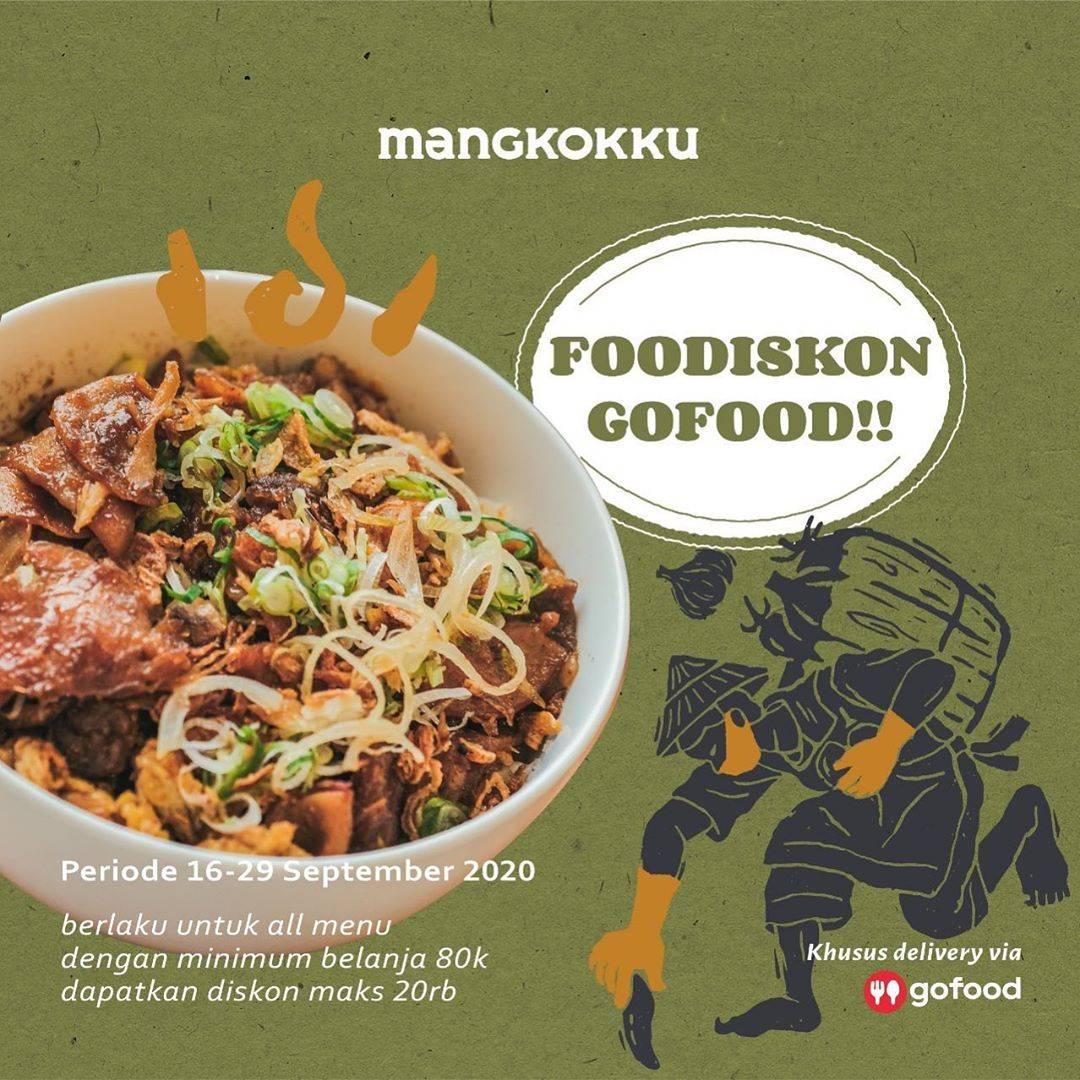 Diskon Mangkokku Foodiskon GoFood Hingga Rp. 20.000