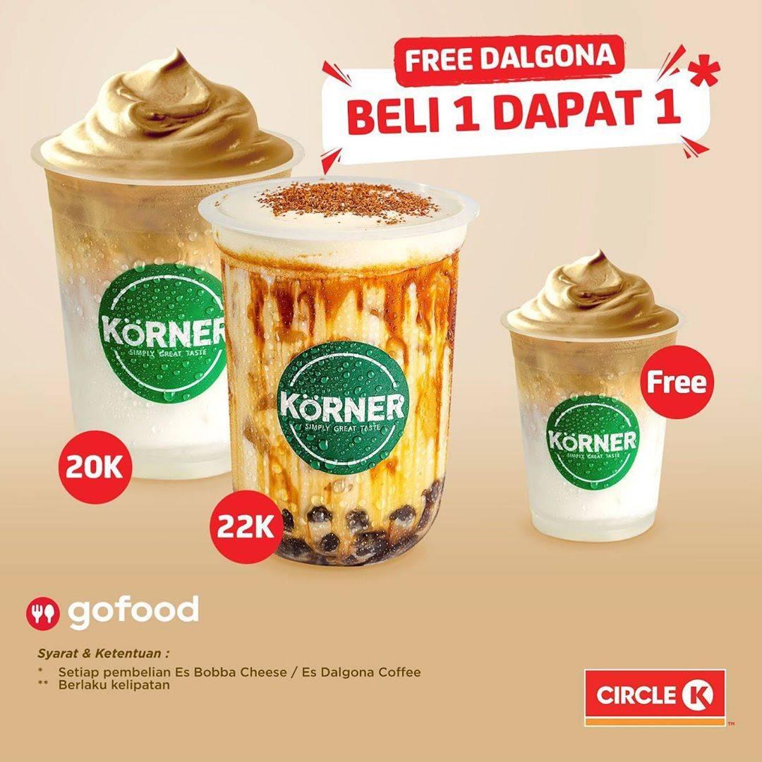 Diskon Circle K Buy 1 Boba Series Get 1 Free Iced Dalgona