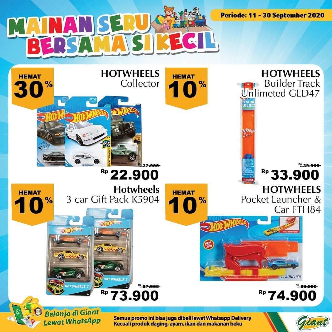 Diskon Katalog Promo Giant Mainan Anak Periode 11 - 30 September 2020
