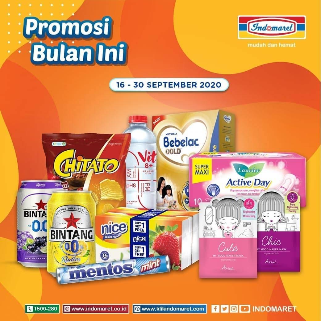 Diskon Katalog Promo Indomaret Promosi Bulan Ini Periode 16 - 30 September 2020