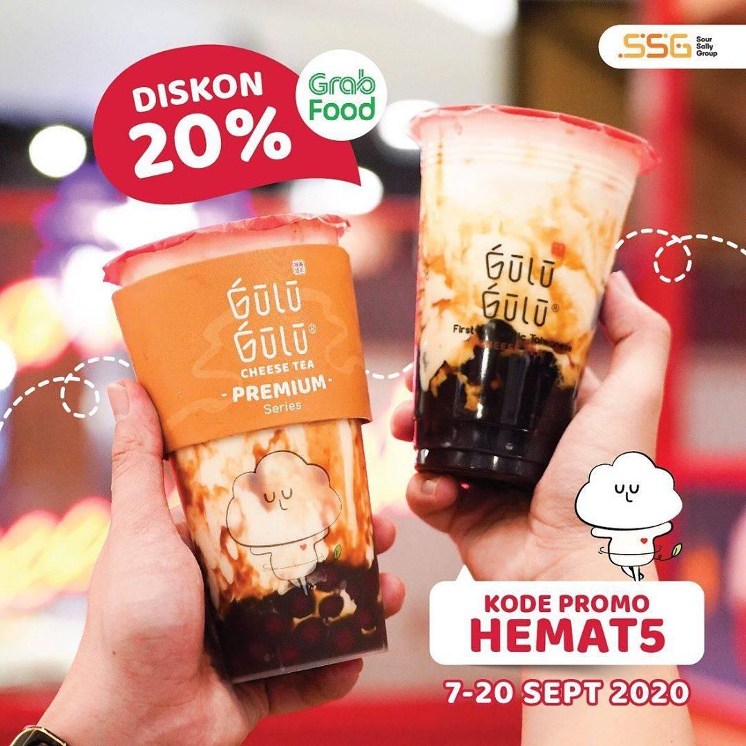 Diskon Gulu Gulu Promo Grabfood Diskon 20%