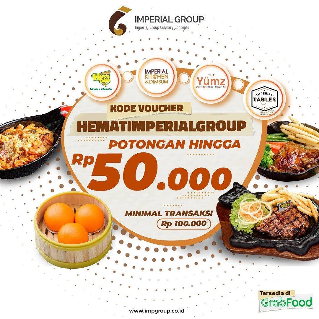 Diskon Imperial Group Discount 40% Off On Grabfood
