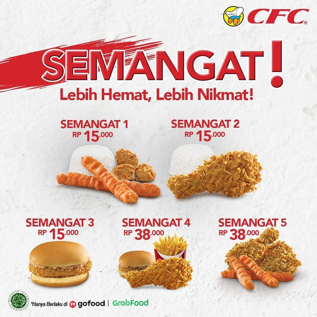 Diskon CFC Promo Paket Semangat