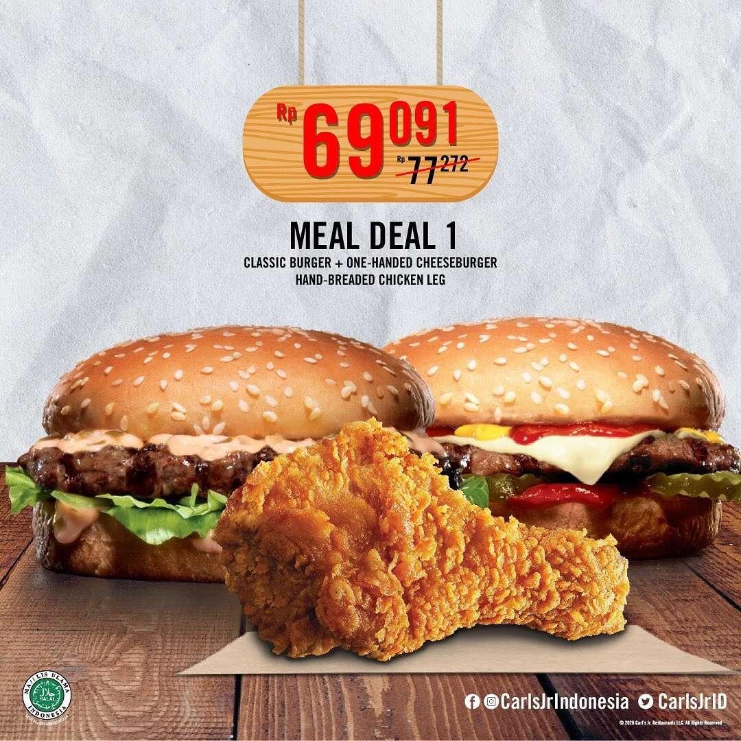 Diskon Caarls Jr Promo Meal Deal 1