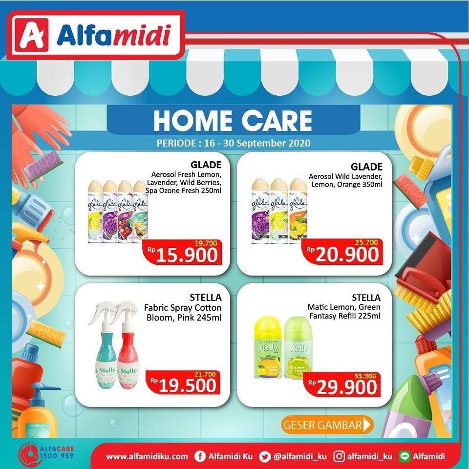 Diskon Katalog Promo Alfamidi Home Care Murah Periode 16 - 30 September 2020