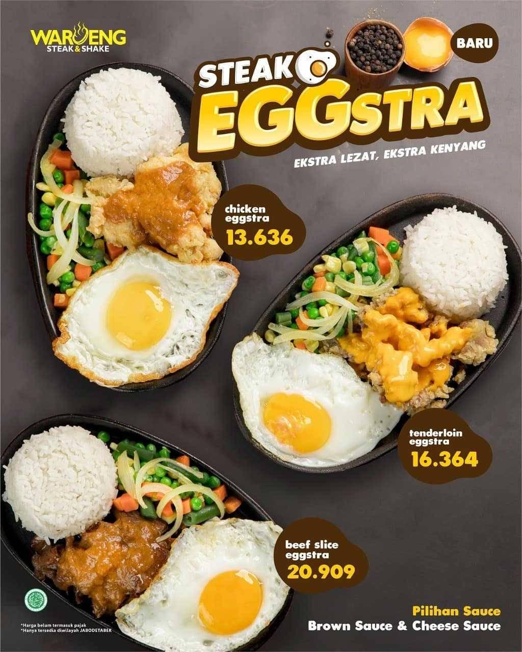 Promo diskon Waroeng Steak Promo Eggstra Untung Diskon 50%
