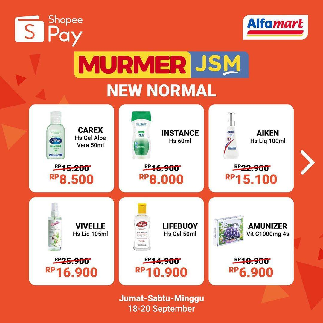 Diskon Shopeepay Promo Murmer JSM Di Alfamart