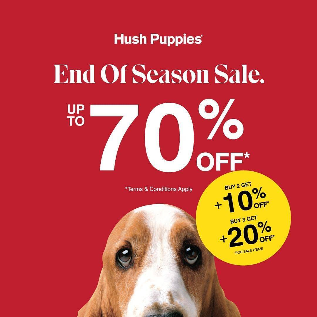 Diskon Hush Puppies End Of Season Sale Up To 70% Off