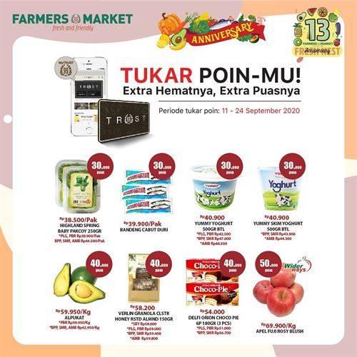 Diskon Farmers Market Promo Tukar Poin