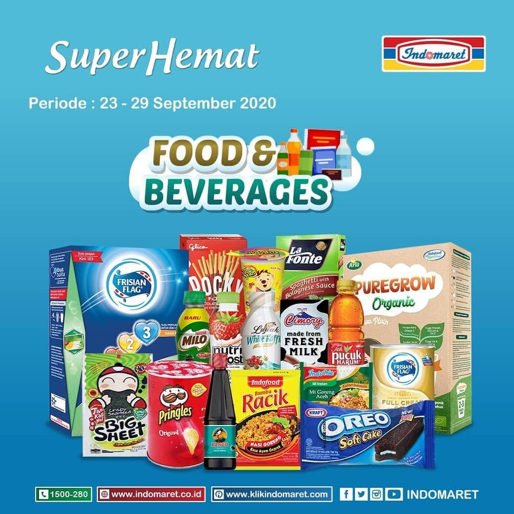 Diskon Katalog Promo Indomaret Super Hemat Terlengkap Periode 23 - 29 September 2020