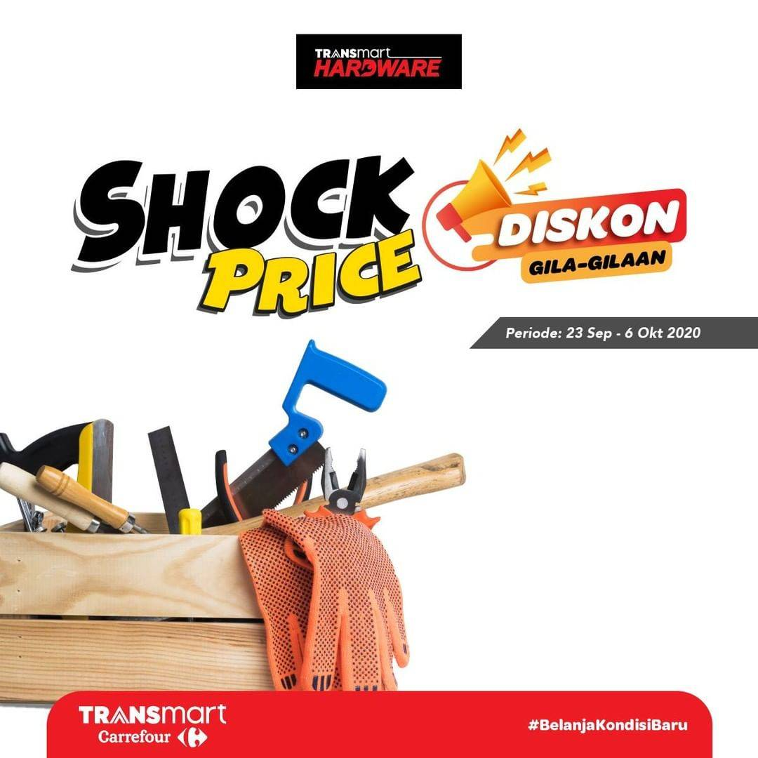 Diskon Katalog Promo Transmart Shock Price Periode 23 September - 6 October 2020