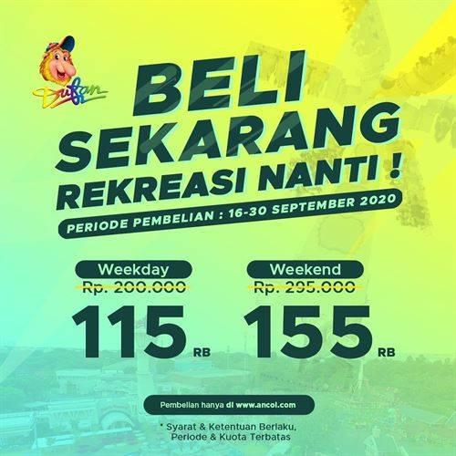 Diskon Dufan Promo Beli Sekarang Rekreasi Nanti - Tiket Dufan Cuma 115K
