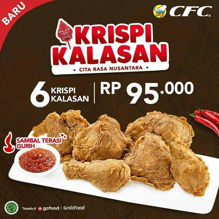 Diskon CFC Promo Paket Krispi Kalasan Hanya Rp. 95.000