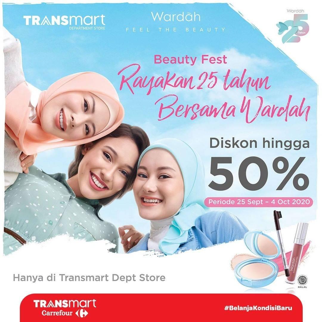 Diskon Transmart Diskon Hingga 50% Untuk Produk Kecantikan Brand Pilihan