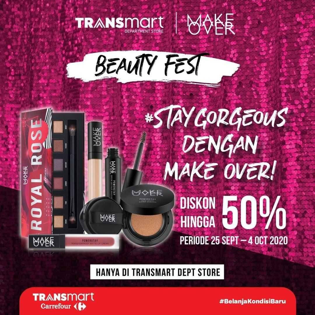 Promo diskon Transmart Diskon Hingga 50% Untuk Produk Kecantikan Brand Pilihan