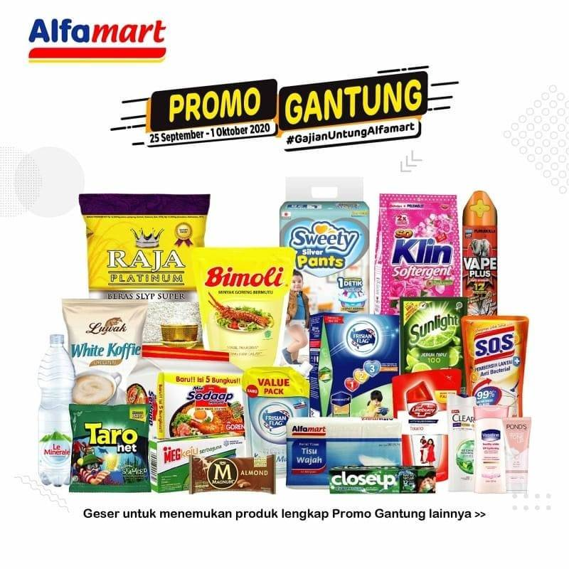 Katalog Promo Alfamart Promo Gantung Periode 25 Oktober 1 September 2020 Disqonin