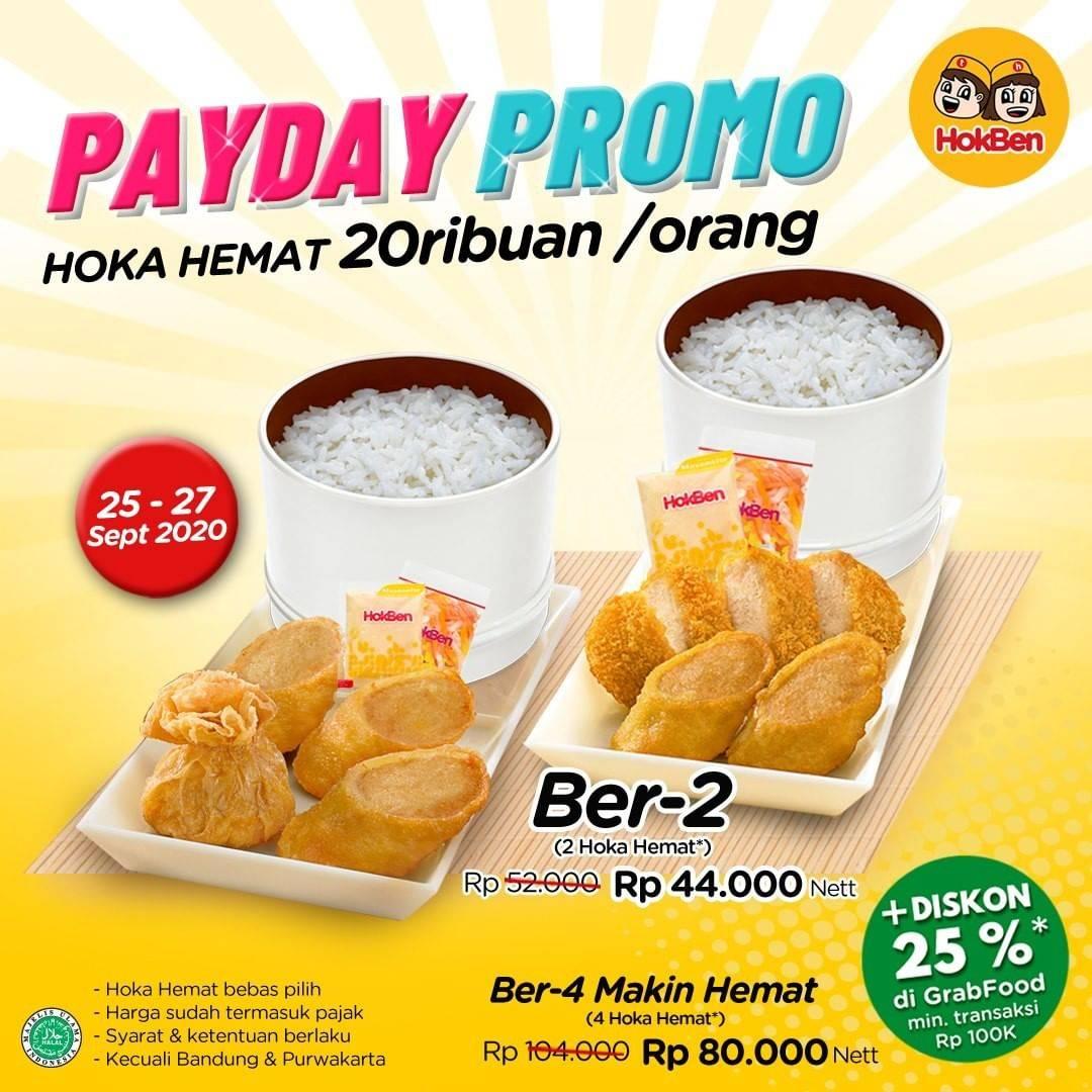 Diskon Hokben Payday Promo - Hoka Hemat 20Ribuan