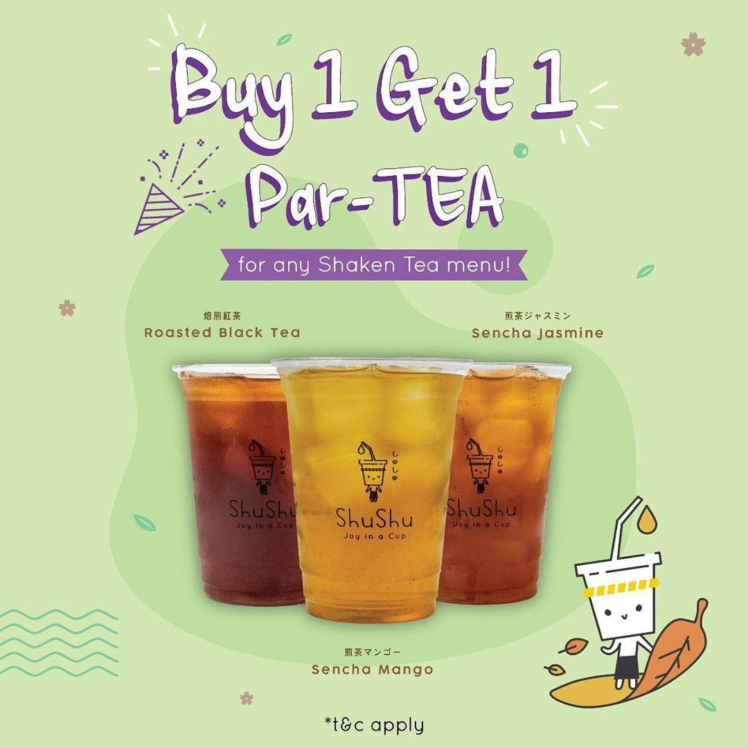Diskon Life Of Shushu  Buy 1 Get 1 Free Par-Tea