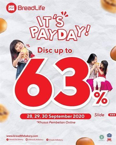 Diskon Bread Life Promo Diskon Hingga 63%