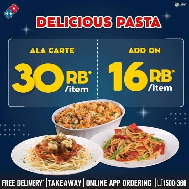 Diskon Dominos Pizza Promo Delicious Pasta