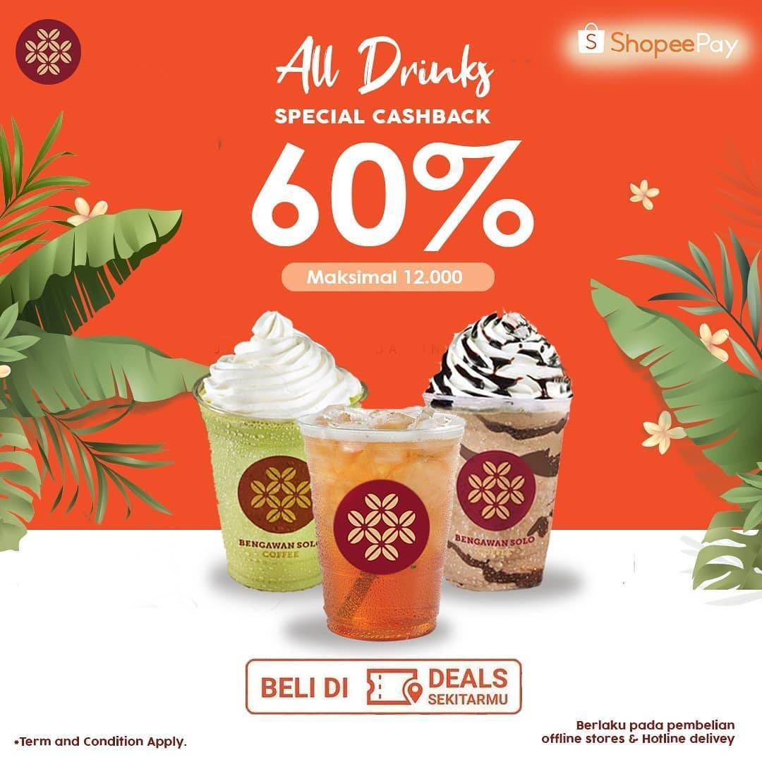 Diskon Bengawan Solo Special Cashback 60% With Shopeepay