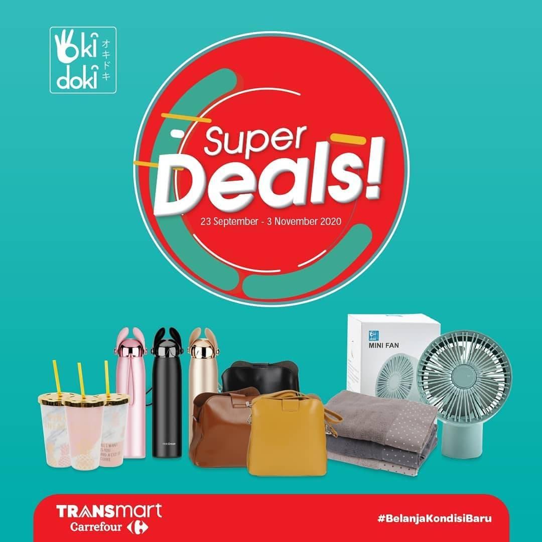 Diskon Katalog Promo Transmart Super Deals Periode 23 September - 3 November 2020
